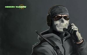 MW2 Wallpaper: Ghost by CreativeImages