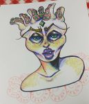 sharpies space queen by LiquefyTheChimera
