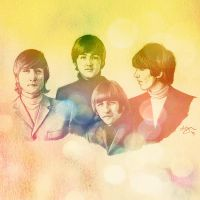 The Beatles by Lyvyan
