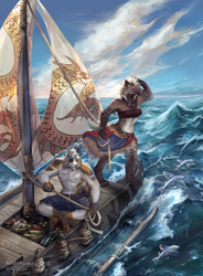 New Borders - Commission by NerezaWorks