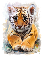 Little Tiger by Kajenna