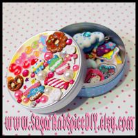 Kawaii Sweets Deco Tin by wickedland