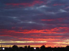 Evening clouds by artoid