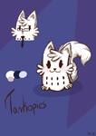 Tarkopies Character Redesign by LadyGraine