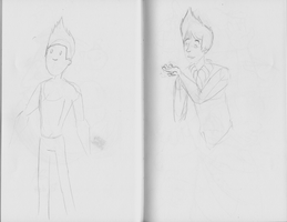 Bravest Warriors Chris Sketch by NinjaObsessed