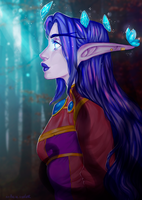 Elune's light by AntheiaVaulor