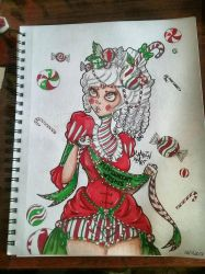 Peppermint Wishes  by LanrinHeart