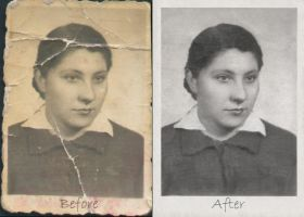 Old photo reconstruction by NelEilis
