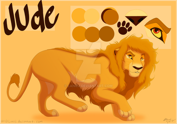 Jude Character Sheet by LanieJ
