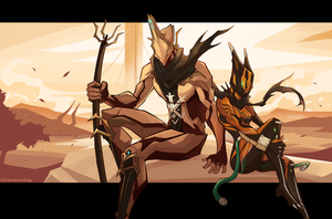 WARFRAME - More Than Wrath by ChickenDrawsDogs
