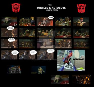 TMNT TFP: We like to Party by xero87