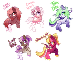Total Adorbs Pony Adopts (CLOSED) by Naughty-Savage