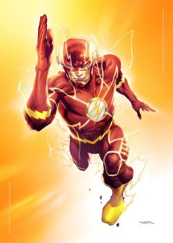 The Flash - Commission by fwatanabe