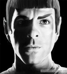 Spock by Selfish-Eden