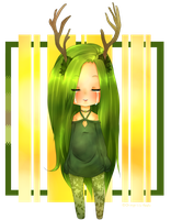 Leaf Me Alone - Point Auction [CLOSED] by Orange-Lily-Adopts
