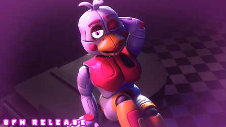 Funtime Chica v4 - SFM Release by The-Smileyy