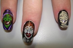 halloween nails 4 by fink