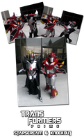 TFP Starscream and Knockout cosplay on-site by ShouYume