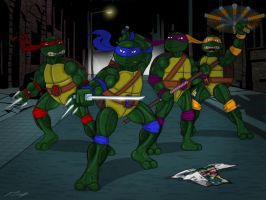 TMNT (Redux) by Algahiem3
