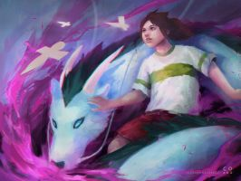 Spirited Away by wanderingcereal