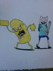 Finn and Jake by rywilliam91