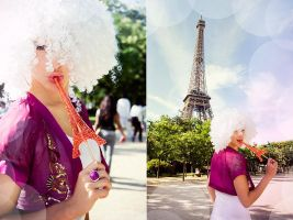 Paris in White 2 by Lucem