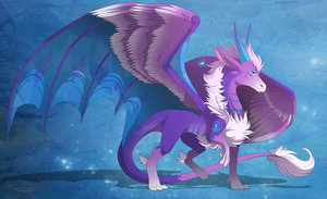 Lilys the dragoness by Anais-thunder-pen