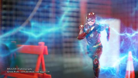 SH Figuarts The Flash DECU Justice League Toy Revi by Digger318