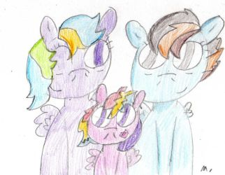 Next next gen: Speed Flash And Quick Silver Family by ptitemouette