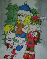 Christmas Crew by GreenySolitare