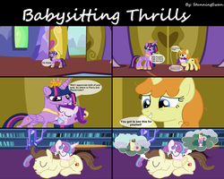Babysitting Thrills 7/7 by StunningSwan