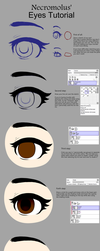Eye tutorial for Paint Tool Sai by Necromulus
