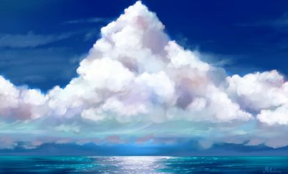 Ice Cream Clouds by Mellodee