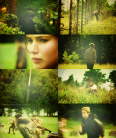 Hunger Games - Green by Linds37