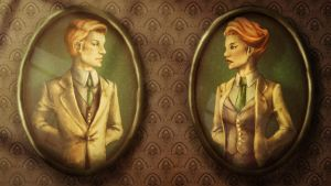 Robert and Rosalind Lutece by SUIamena