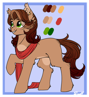Sina Reference Sheet - 2018 by Cloud-Drawings