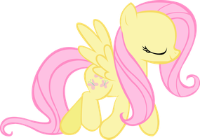 Fluttershy Vector Test by Leslers