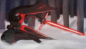 Star Wars: Kylo Ren by totalnonsense89