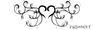 Heart Tattoo design by Glittering-White