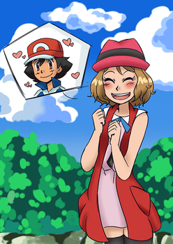 Amourshipping-Hes so cuuuute! by PoroPants
