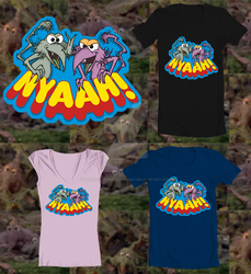 Threadless Fraggle Rock tee contest-01B by Gonzocartooncompany
