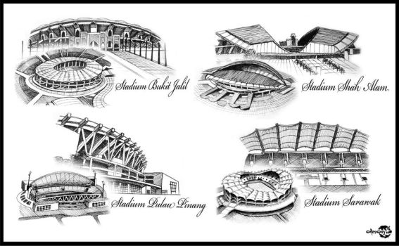 Stadiums by AimanMD