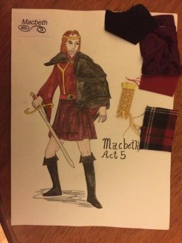 My Costume Design for the Scottish Play by Wolfsongamp