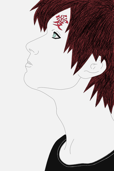 Gaara by boxthissideup