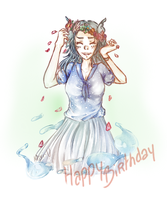 [U.P] Lovely Birthday by Mari-U