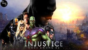 INJUSTICE GODS AMONG US THE INSURGENCY POSTER by Redhood2343