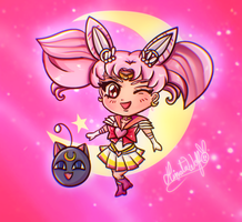 Sailor Chibi Moon - Chibi Version by Hinata1495
