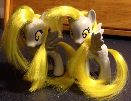Derpy Hooves Customs FOR SALE! by Mommakip