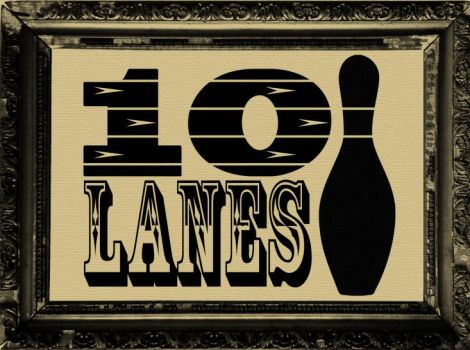Bowling Alley logo by bmansnuggles