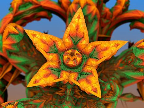 Fractal Blossom by jost1